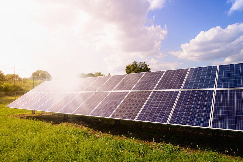 Солнечная энергия с «темной стороны» панели
