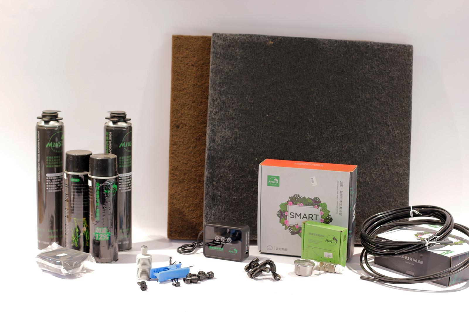 Оборудование и материалы MIUS для оформления флорариумов и террариумов