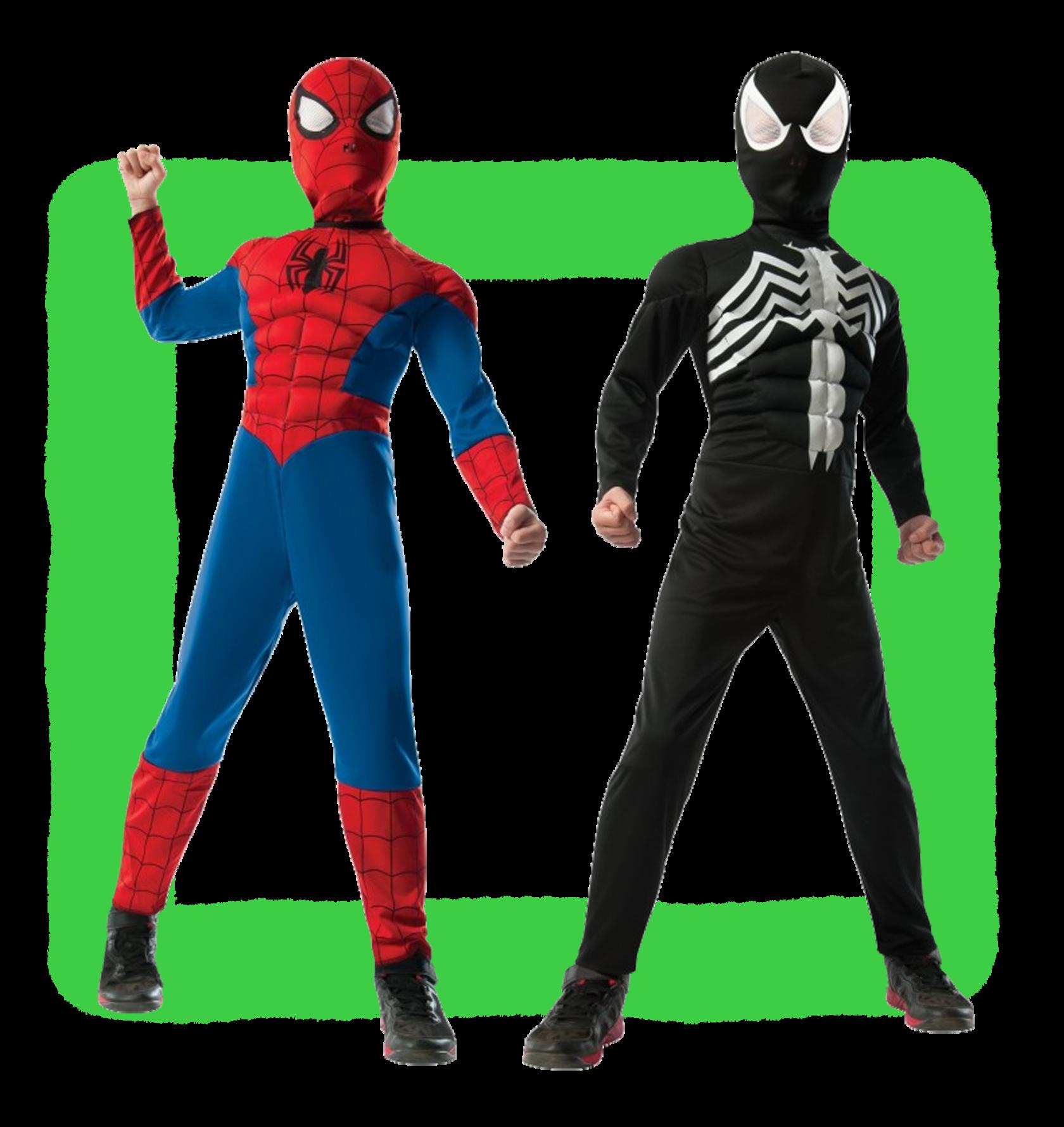 Поздравления в костюме человека паука