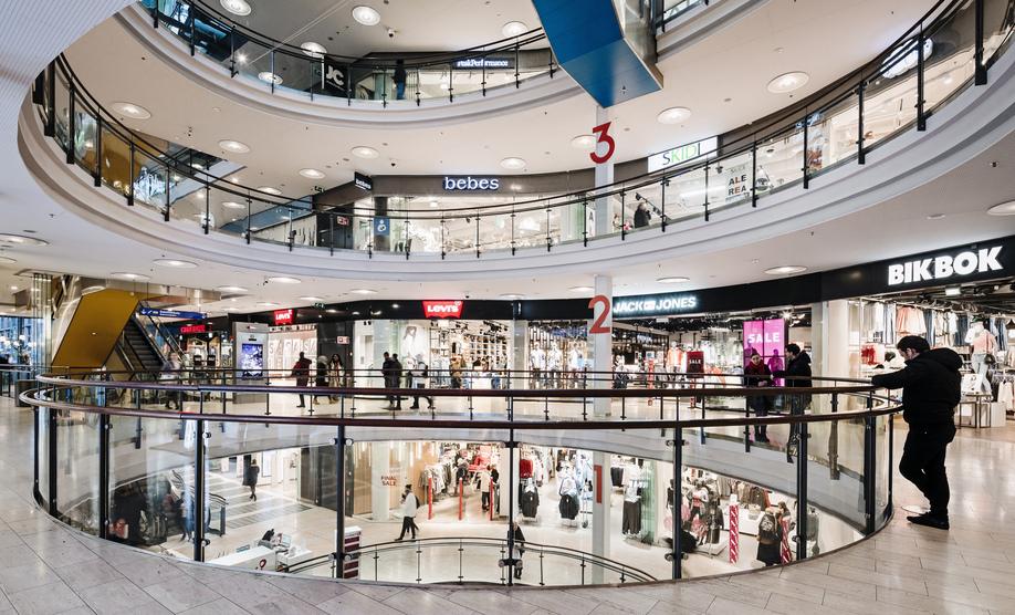 Торговый комплекс в Хельсинки Kamppi Shopping Centre