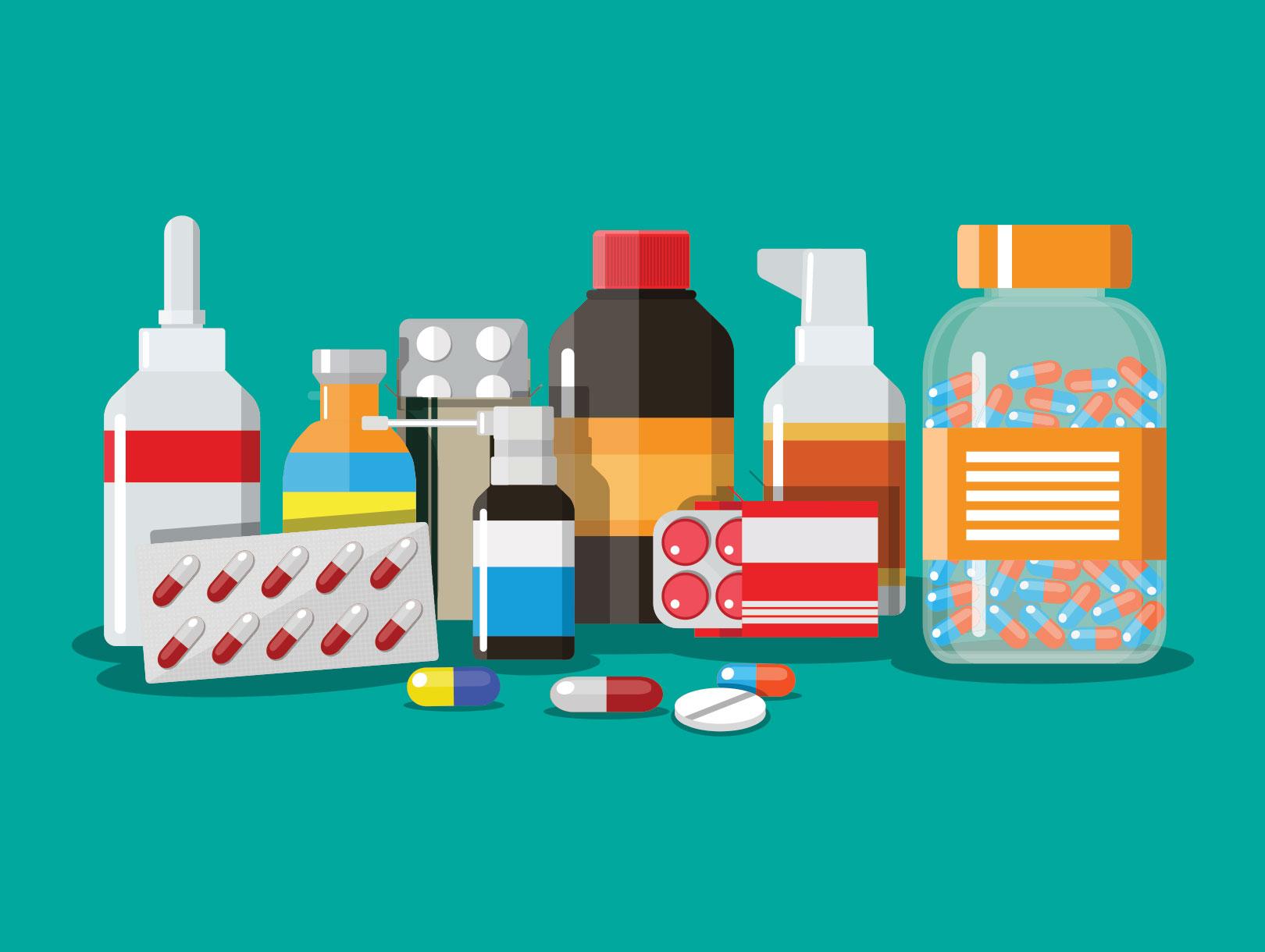 Картинки лекарства для детей, открытки открытка