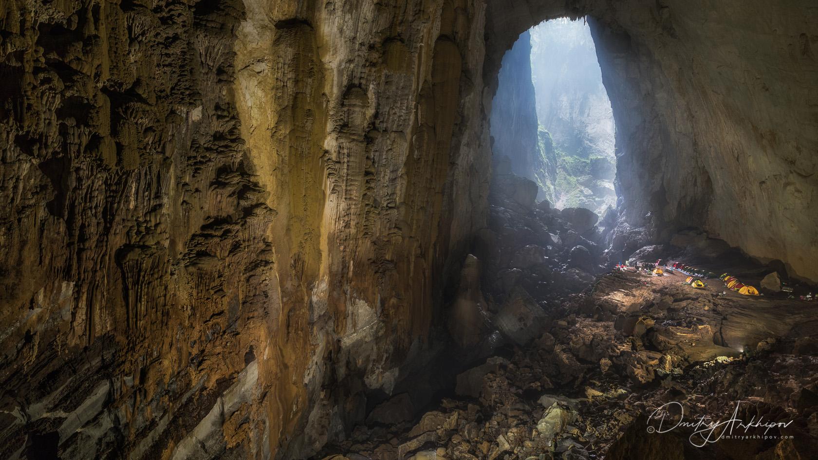 Sond Doong cave in Vietnam