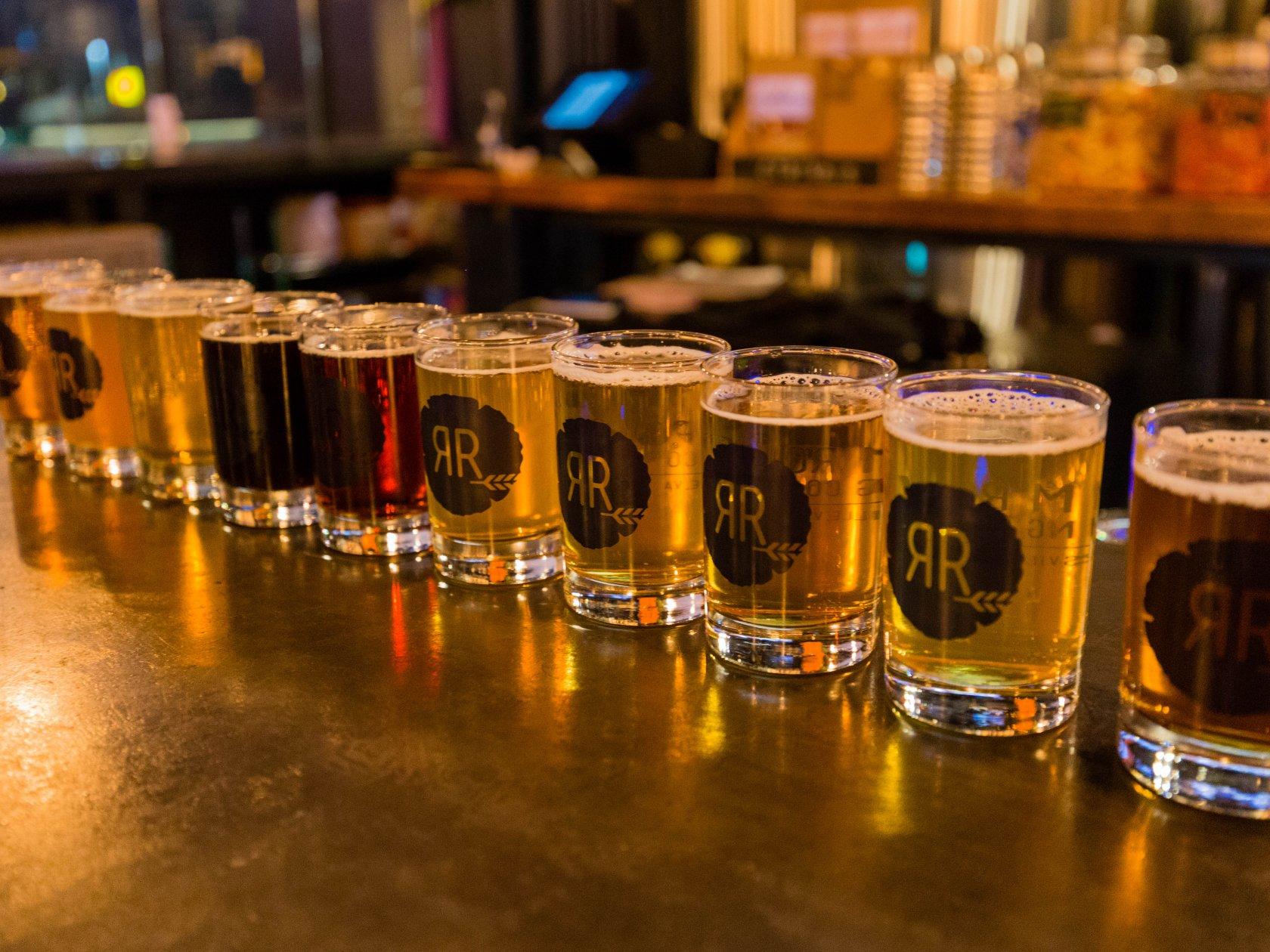 Random Row - Charlottesville\'s Neighborhood Brewery