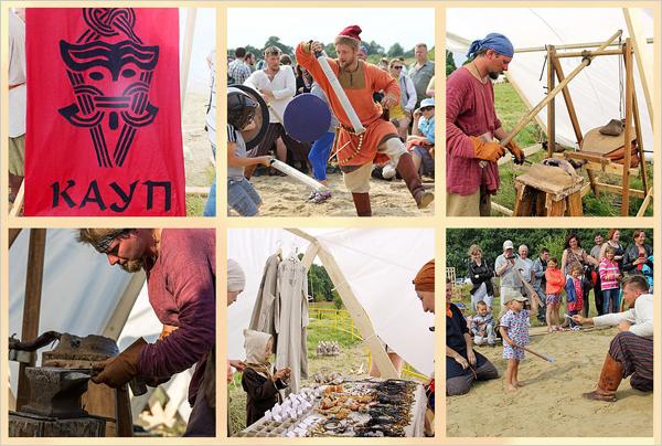 Фестиваль эпохи викингов Кауп в июле в Калининграде