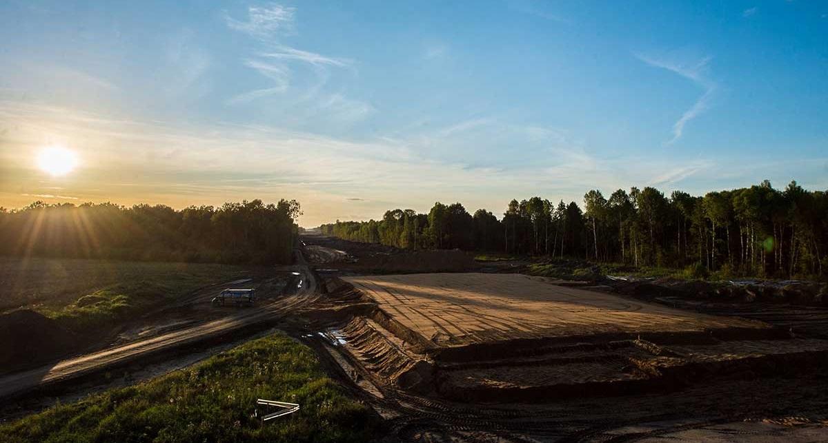 Протяженность новой магистрали составит 82,6 км, расчетная скорость движения — до 150 км/ч (фото: ГК «Автодор»)