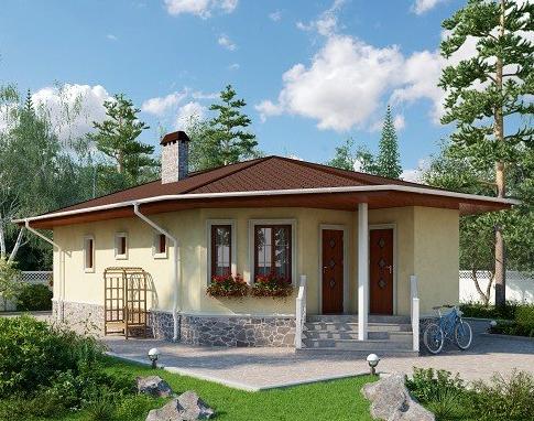 Каркасный дом 80 квадратных метров