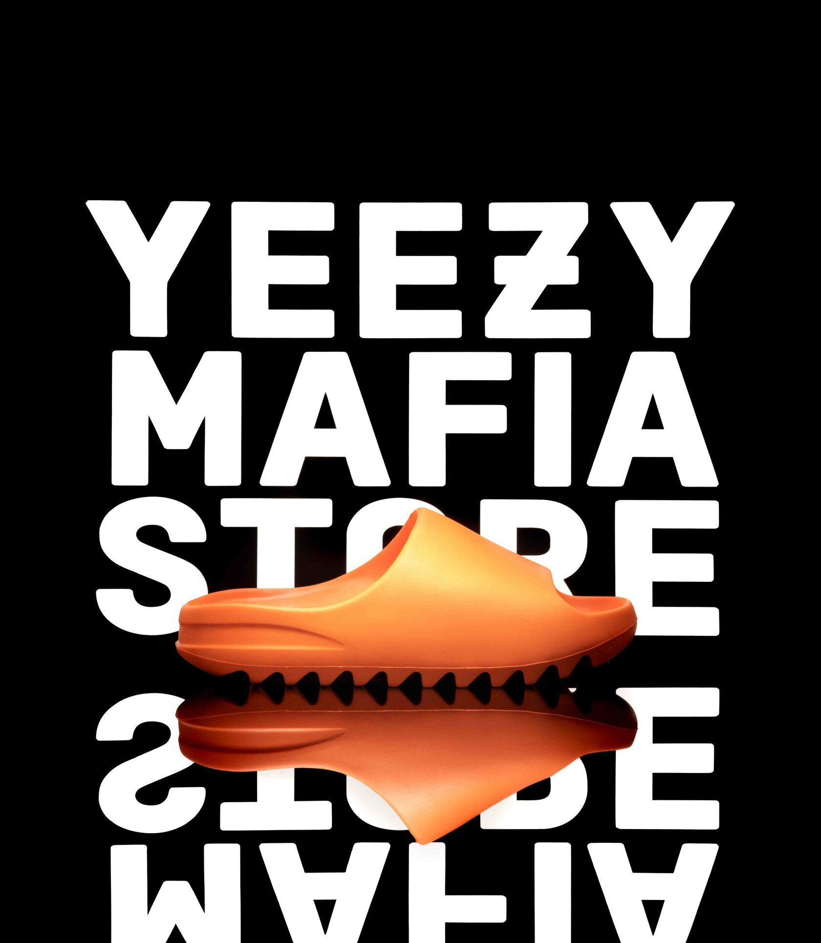 Yeezy Slide Enflame Orange купить