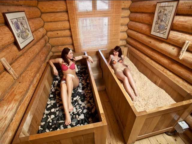 Применение янтарной натуральной косметики для активного омоложения и оздоровления в СПА салонах и дома. Фото.