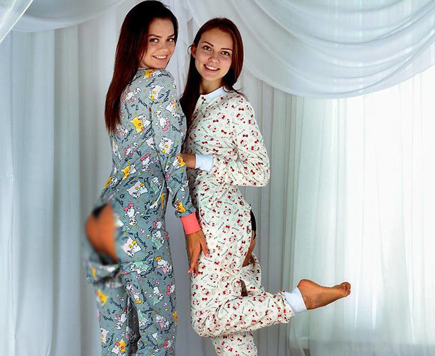 popajama.com.ua пижама с карманом на попе