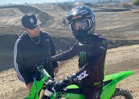 Джо Симода подписал контракт Monster Energy Pro Circuit Kawasaki