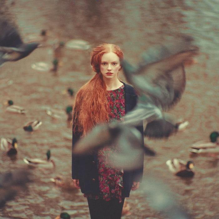 «Рыжеволосая девушка». Фотограф Олег Оприско