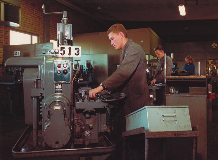 Виробничі потужності ELPRESS у 70-х роках