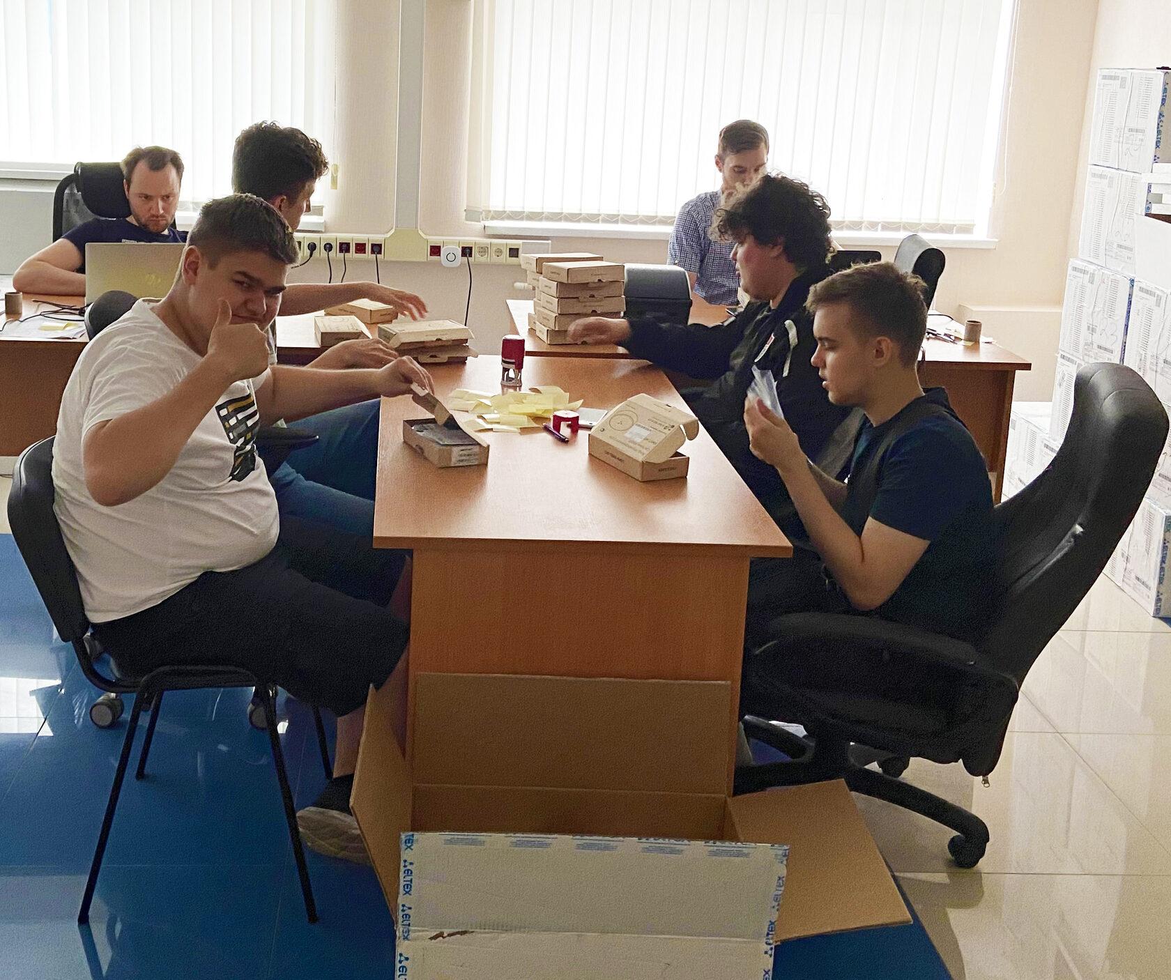 Студенты МТУСИ проходят практику в Контроль ИТ