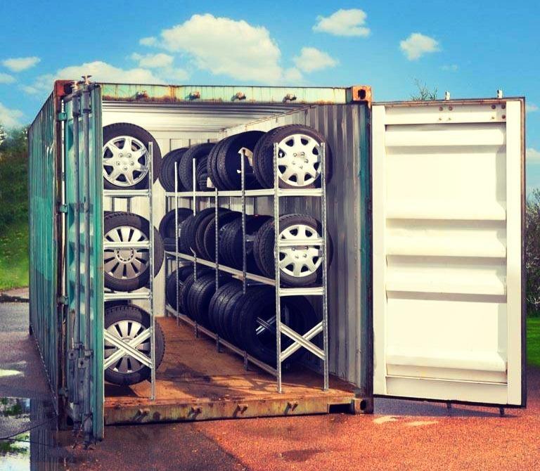 Где можно держать шины