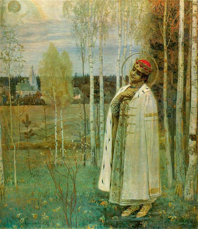 Михаил Нестеров «Дмитрий, царевич убиенный» (1899)