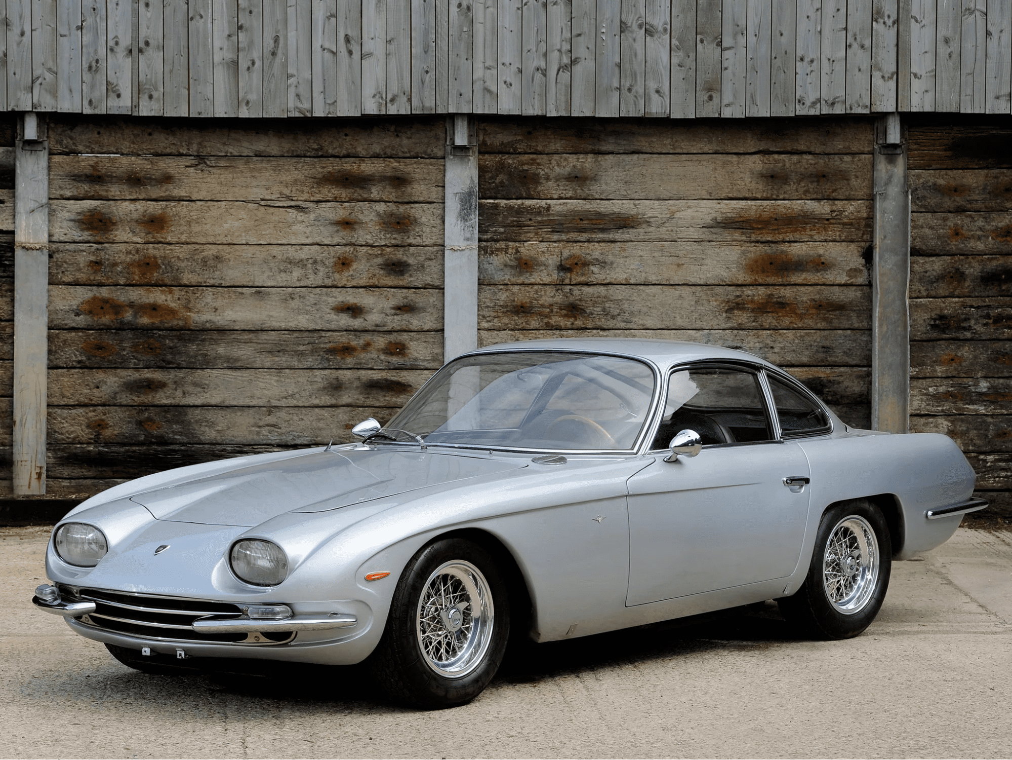 Так выглядела сама первая Lamborghini.