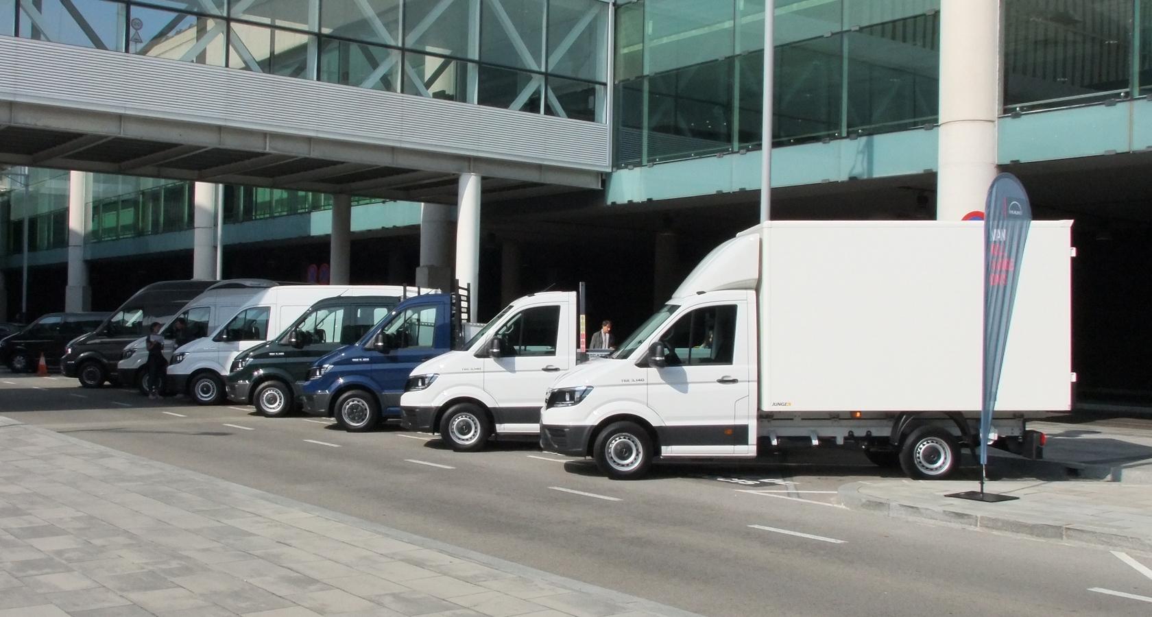 Линейка легких коммерческих автомобилей MAN TGE имеет широкий выбор базовых шасси и надстроек (фото: ГиД)