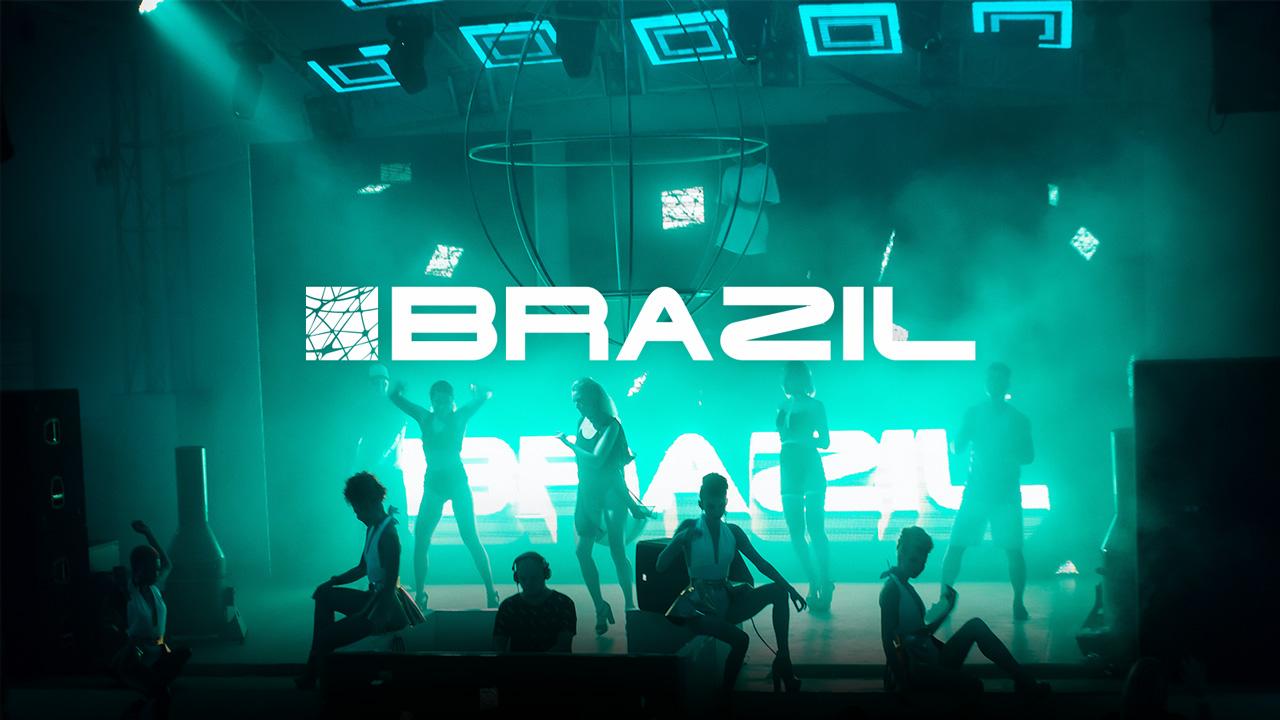 Centri commerciali chiave d'accesso al Brasil
