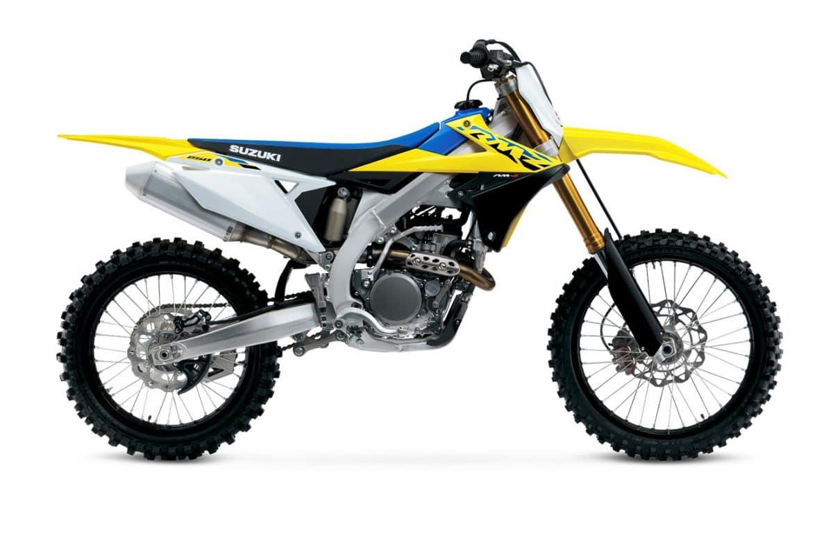 Тест: Suzuki RM-Z250 2021 года