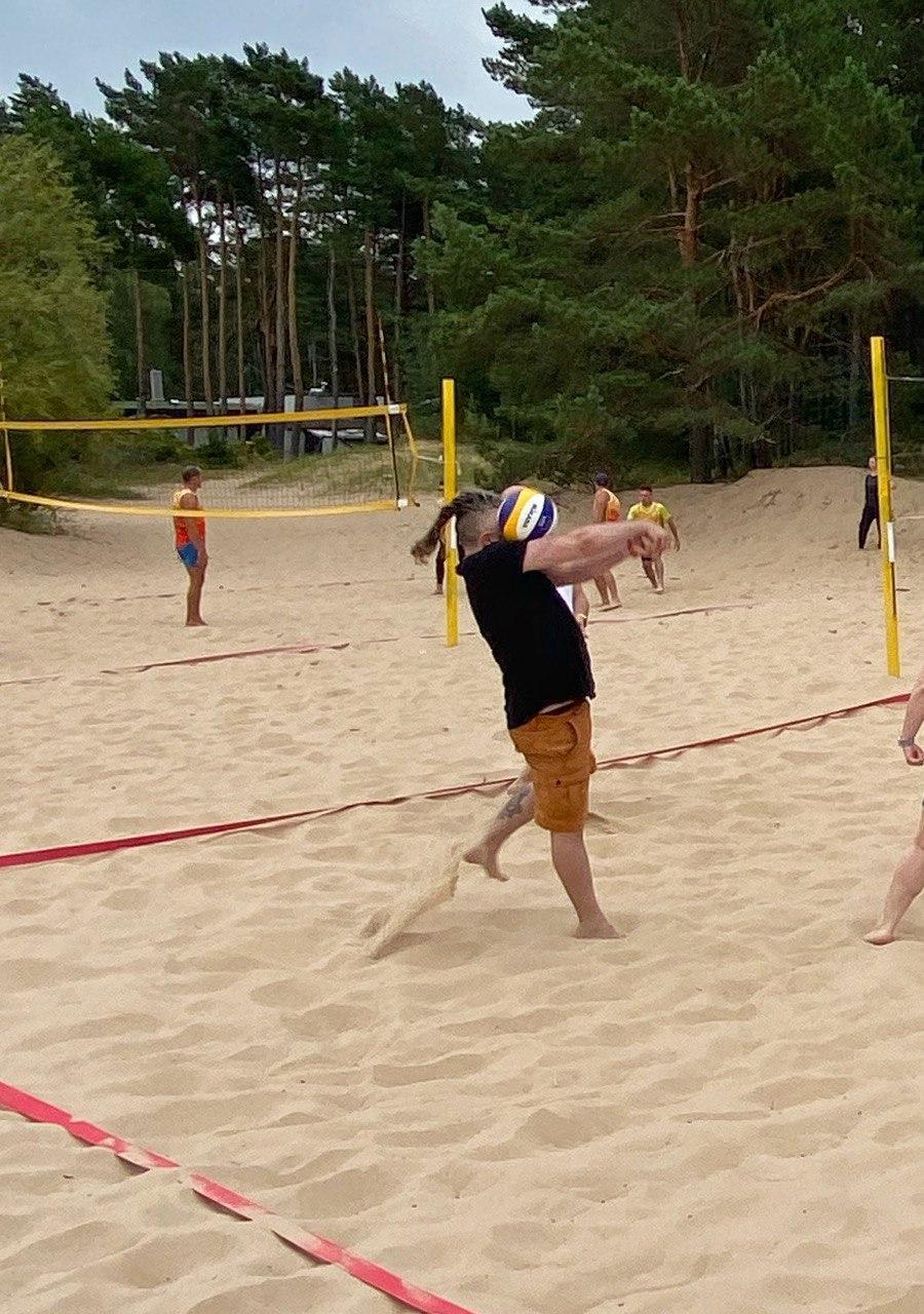 marine digital volleyball