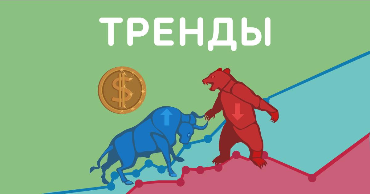 Что такое тренд на финансовом рынке