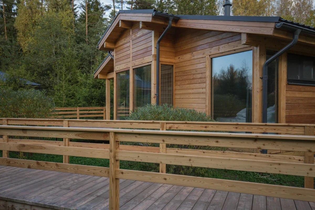 фахверковые дома DKT HOUSE  T Series  дом тип1
