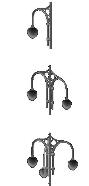 Кронштейн для подвесных светильников — «Ретро»