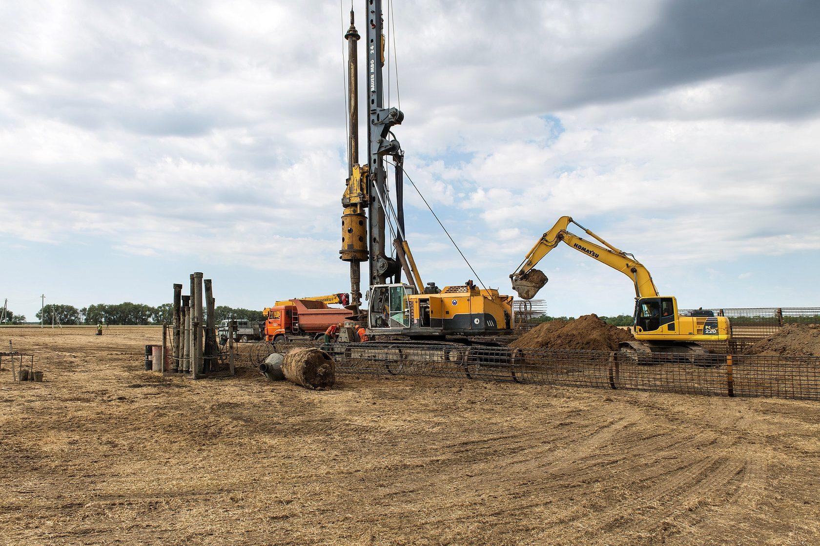 В Ставрополье началось строительство Бондаревской ВЭС