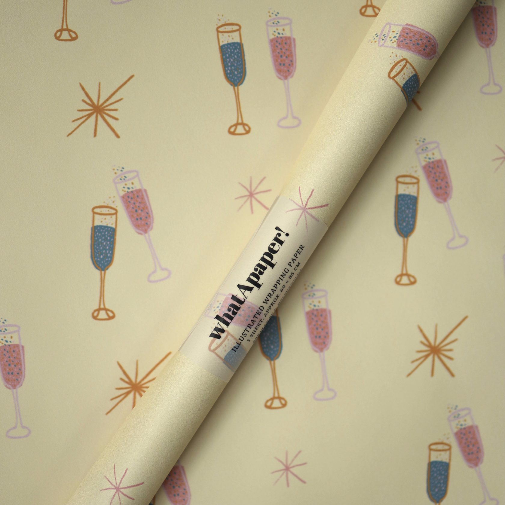 whatApaper illustrated wrapping paper special order