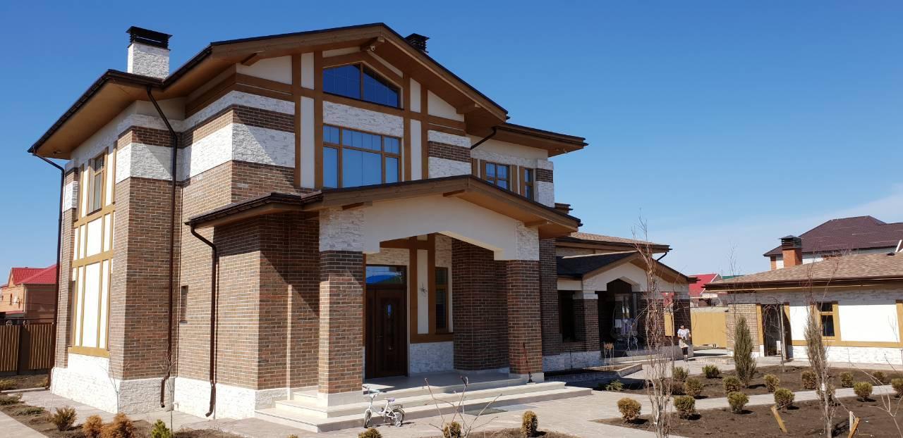 Реализованный проект дома в Казахстане