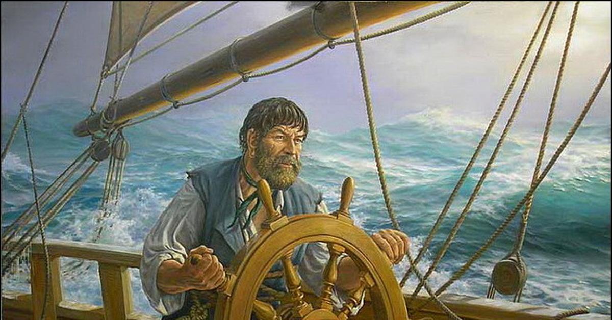 регулярно картинка капитан в плоту подробной