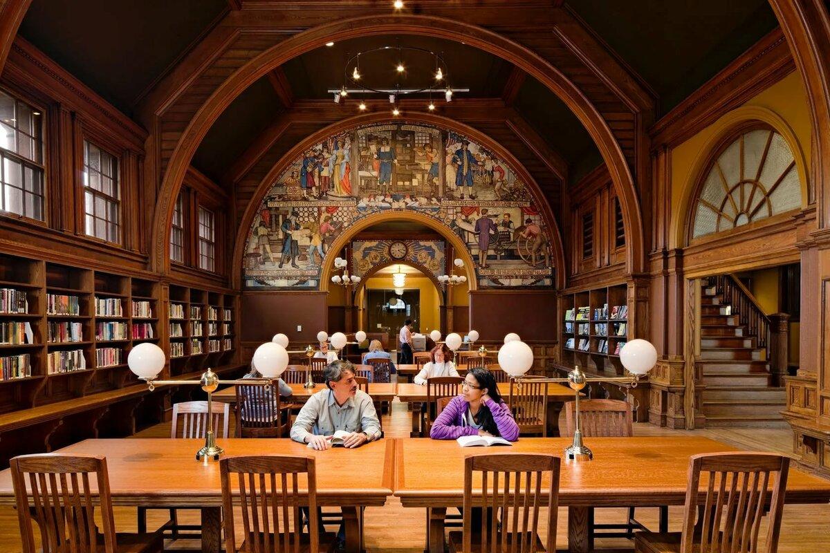 Библиотека университета Кембриджа