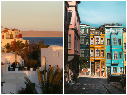 Стамбул и Хургада в январе
