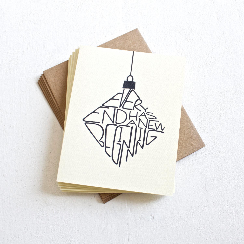 идея для открытки минимализм
