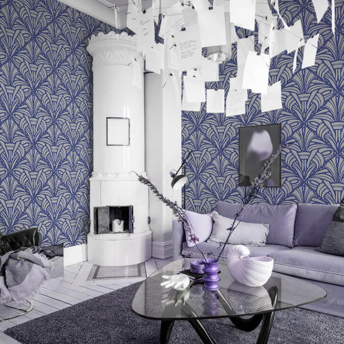 Бесшовное текстильное полотно «Art-déco»