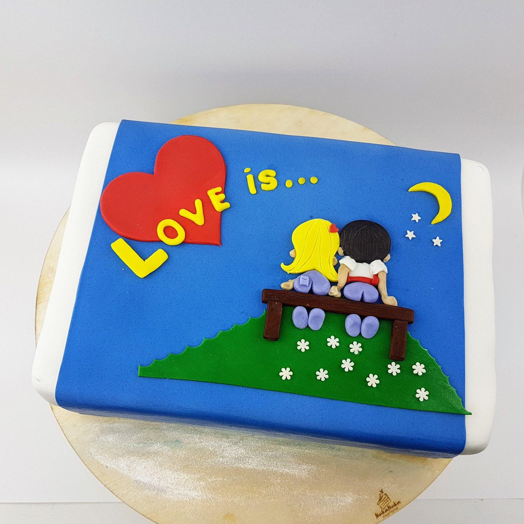 слову, это торт с картинками лав из протяжении многих веков