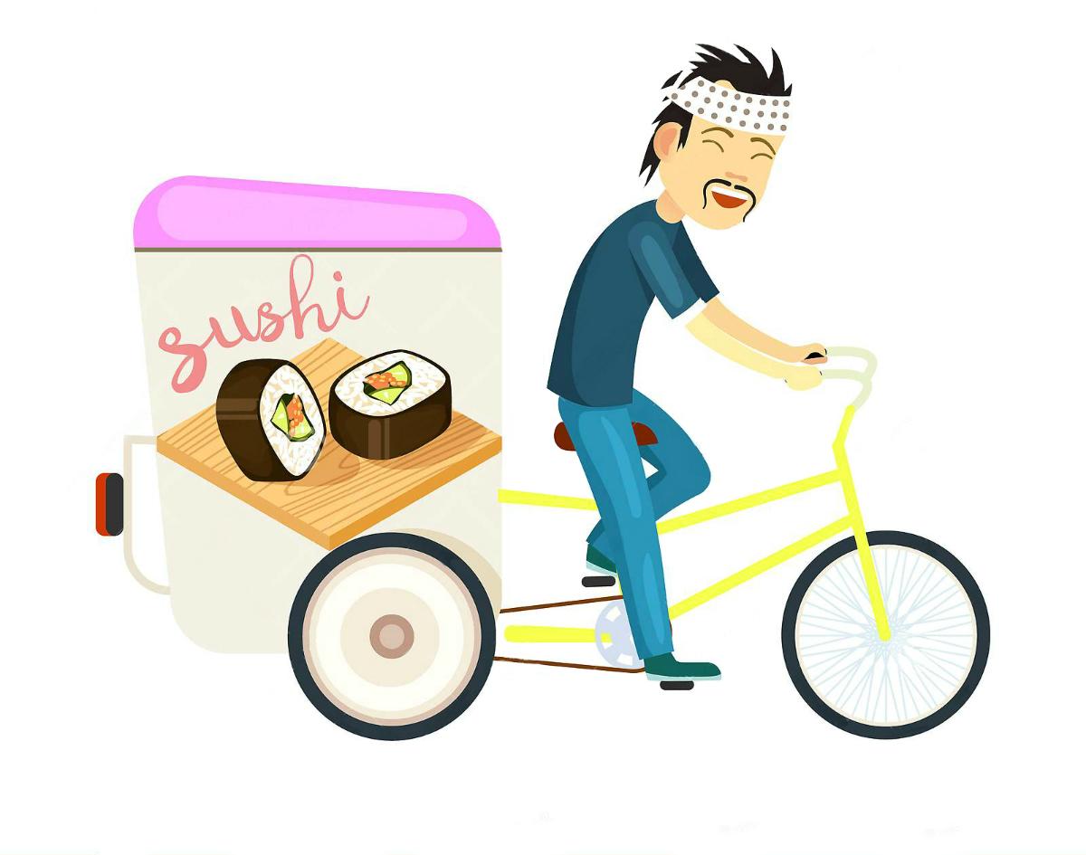 Доставка суші