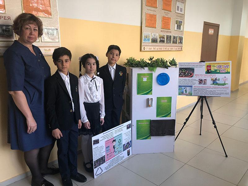 2019 год  4 А класс 2 место Районный конкурс по защите проектной работы