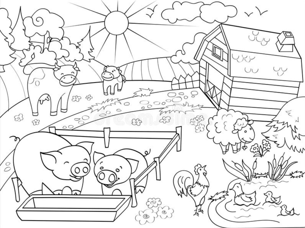 пример картинки для рисованого крокодила