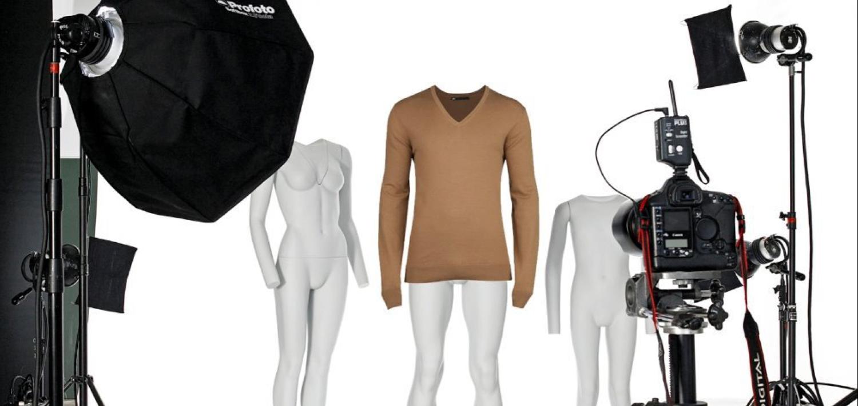Как правильно фотографировать одежду на манекене