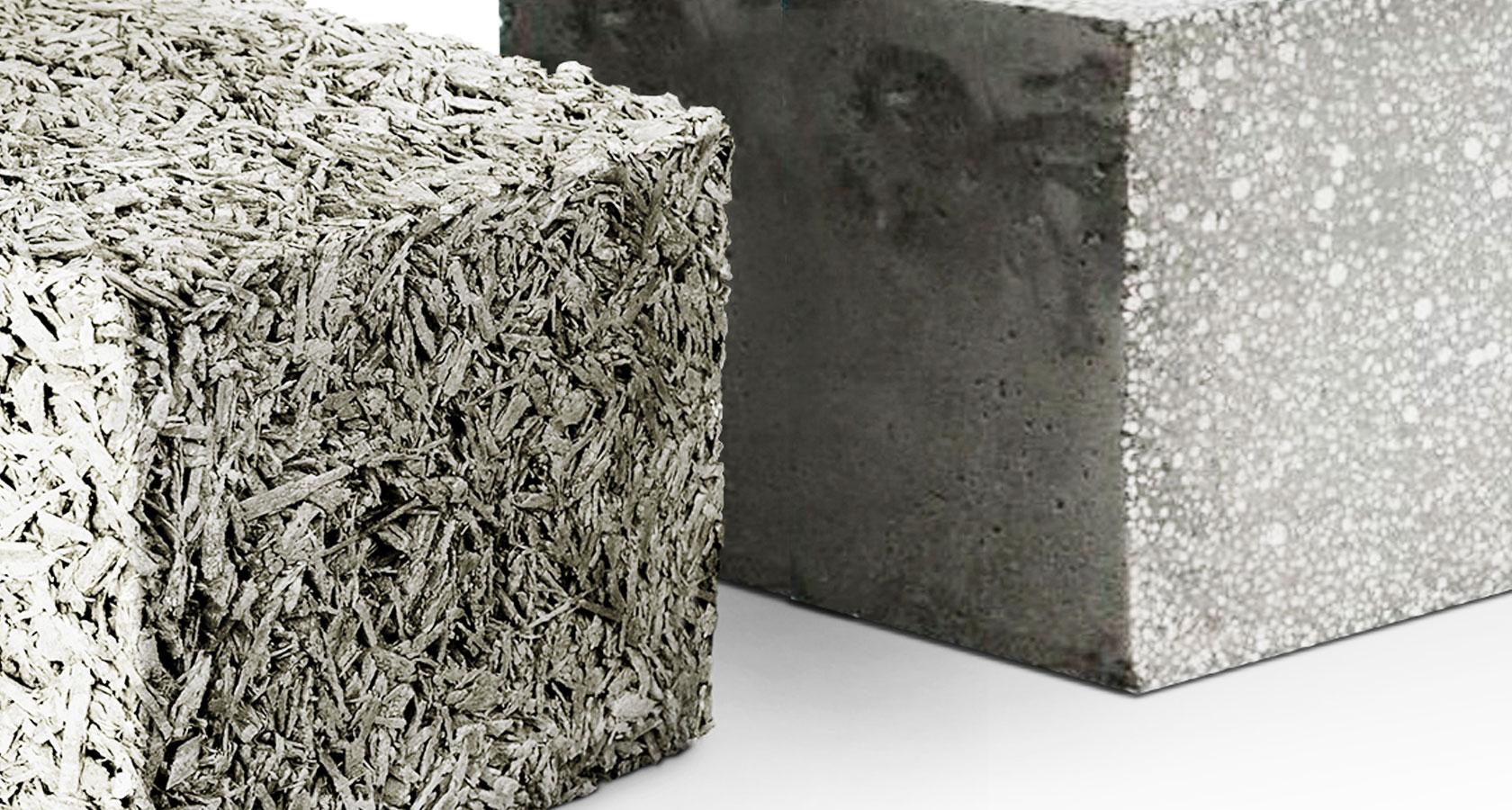 блоки из цемента и пенопласта