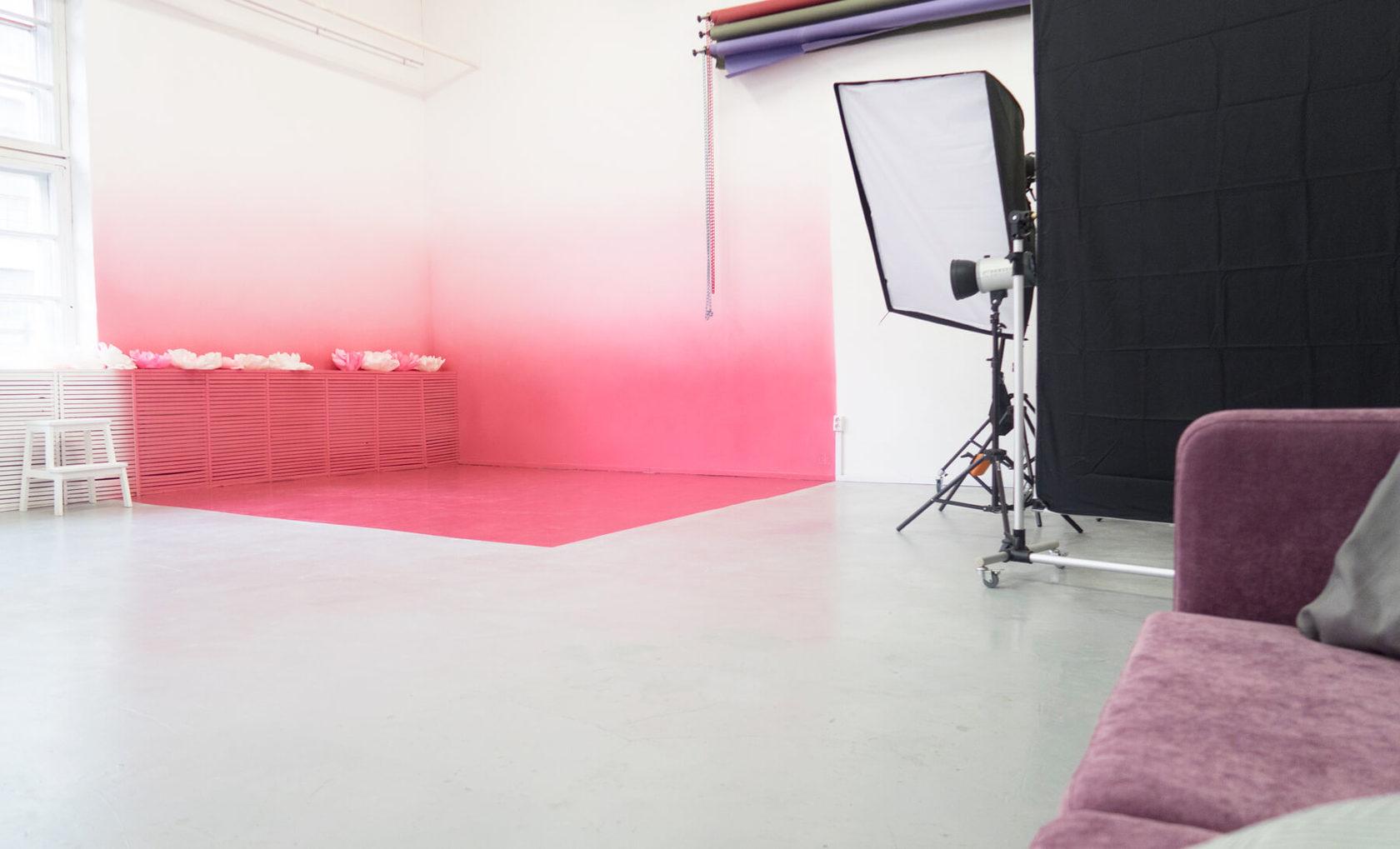 каким цветом должны быть стены в фотосалоне ночи