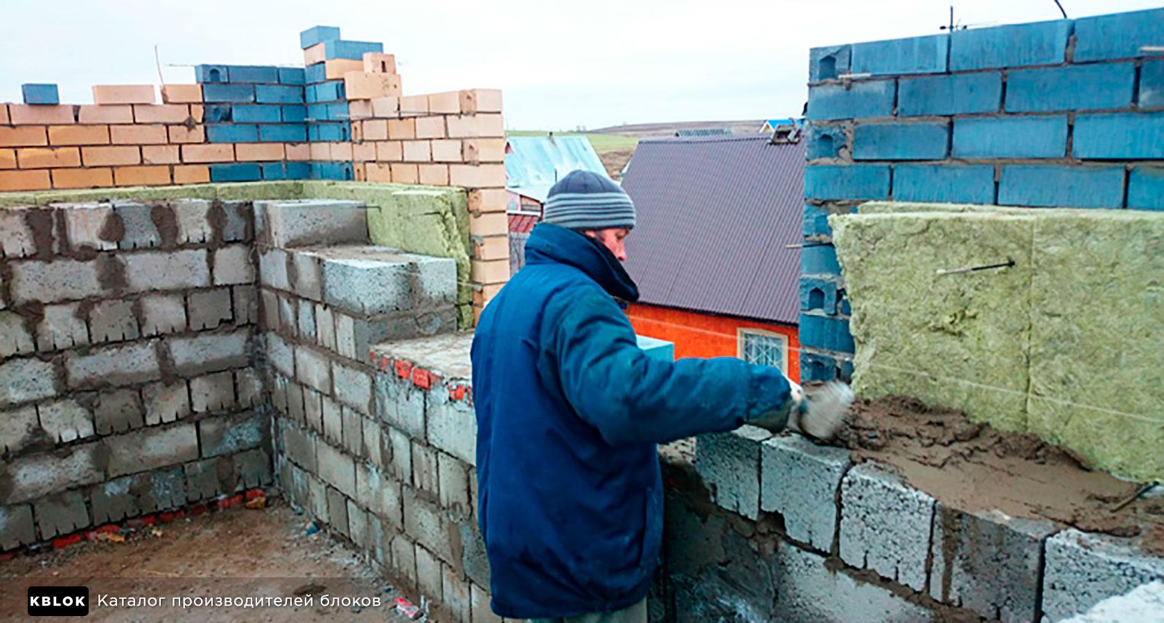 Дом керамзитобетон и кирпич ли бетон