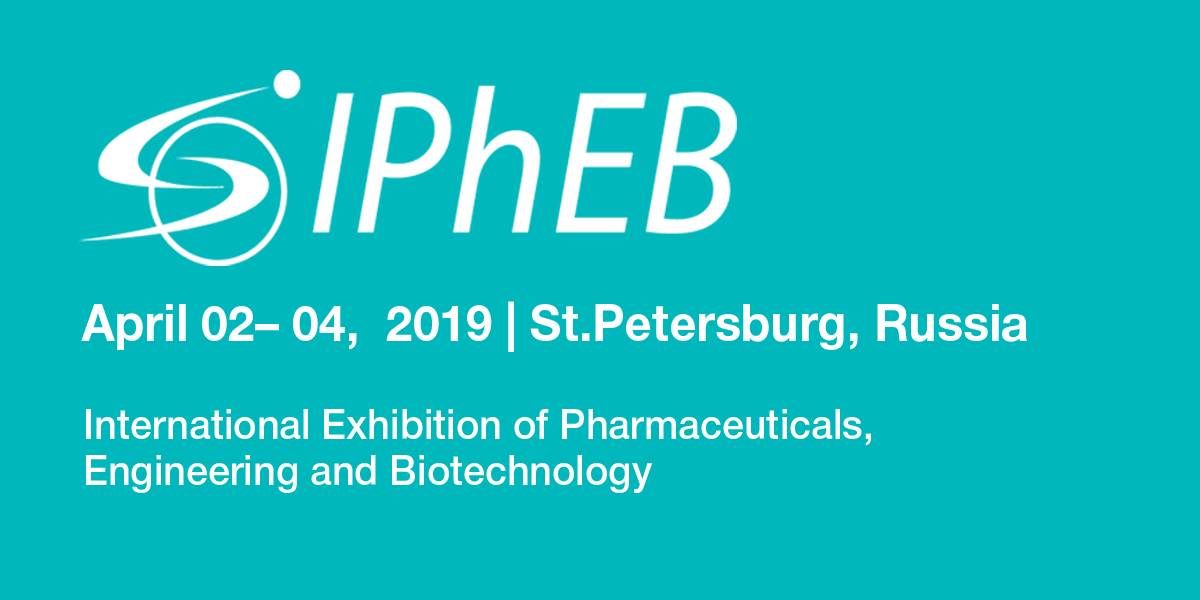 IPhEB Russia - The International Exhibition on Pharmaceuticals