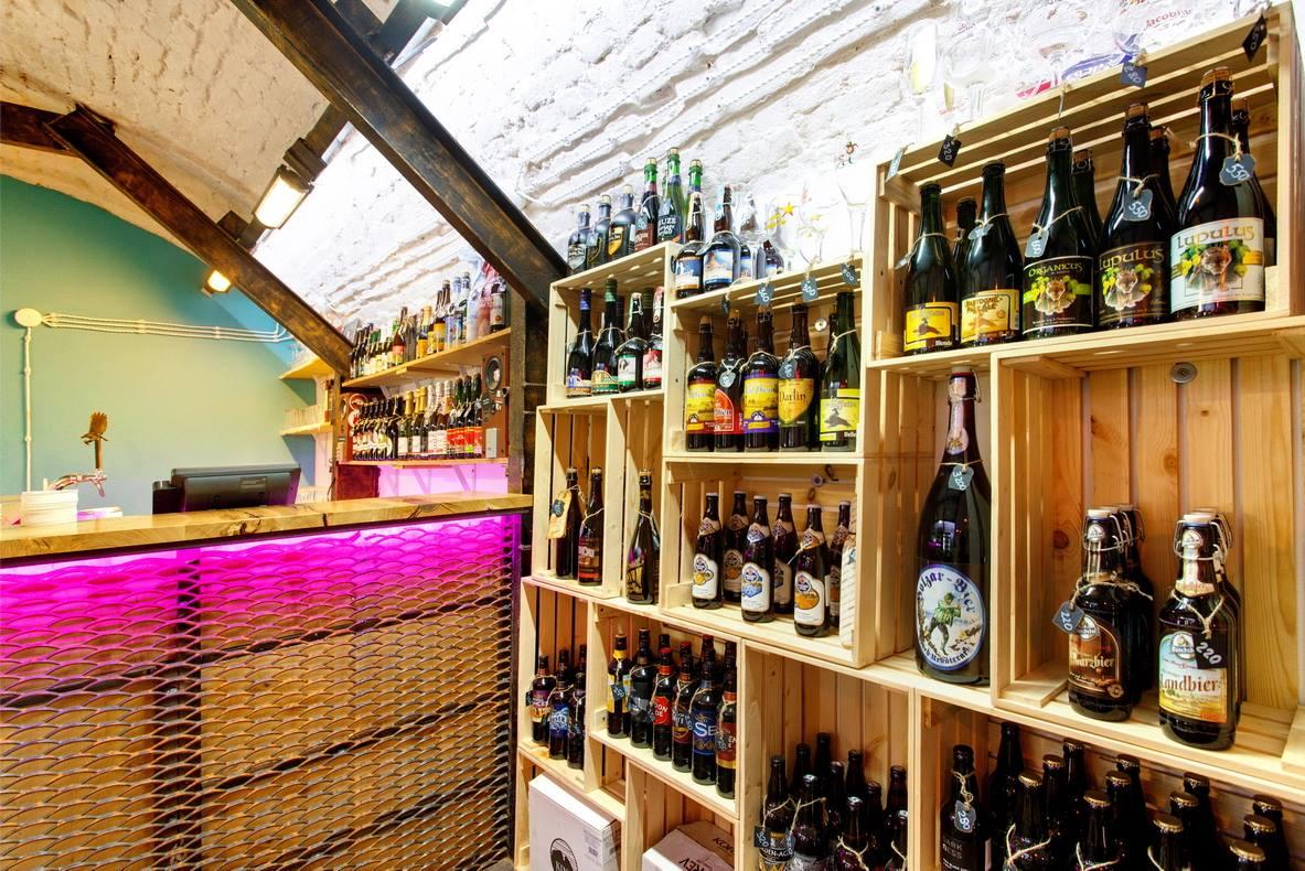 DOGMA bottle shop - cекретный пивной магазин в центре Москвы