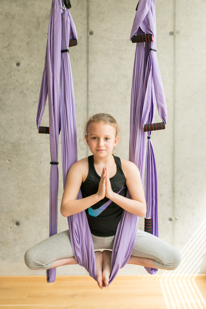 Okamžiky s jógou