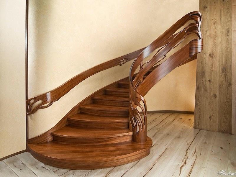 Лестницы из дерева на продажу