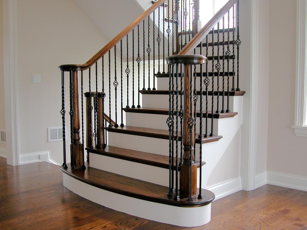 перила для лестницы в частном доме купить