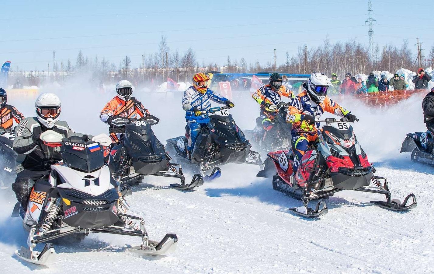 Чемпионат и Первенство России по кроссу на снегоходах 2021 года в Кирове