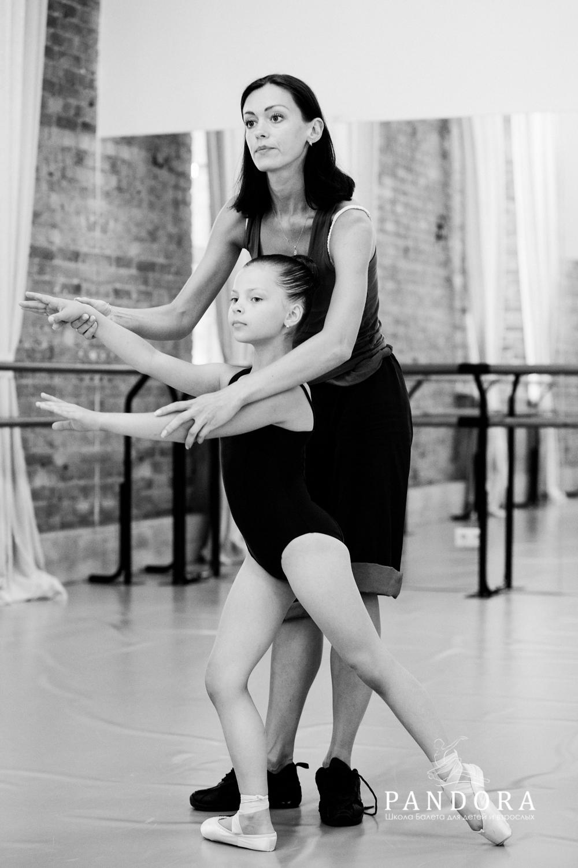Занятия для детей с профессиональными артистами балета